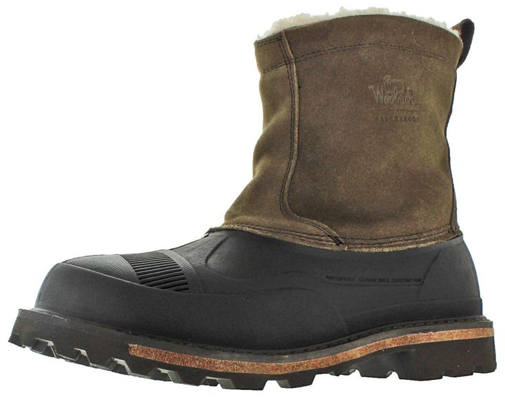 Woolrich Fully Wooly Slip Men's Winter Boots Waterproof