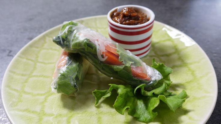 Cambodian Style Spring Rolls