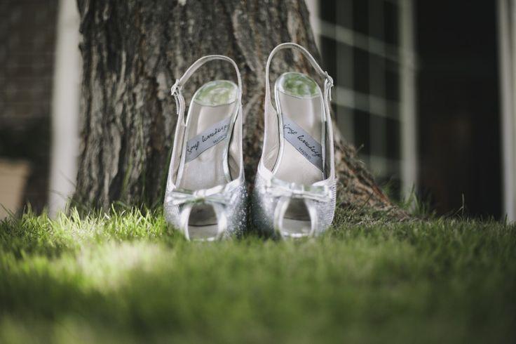 #Zapatos de Sara realizados por Jorge Larrañaga para su vestido de #novia de alta costura de Beatriz Alvaro  #weddingshoes #moda #boda #glitter #fashion #shoes #womenshoes