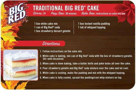 Big red cake