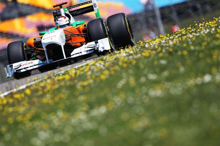 2011 Turkish Grand Prix Force India VJM05 Adrian Sutil