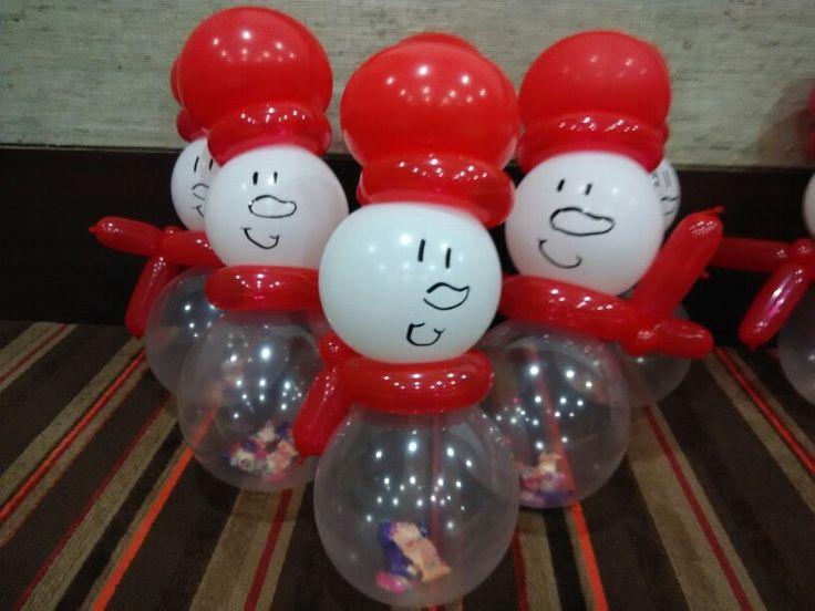 Balloon#snowman#gift#for kids