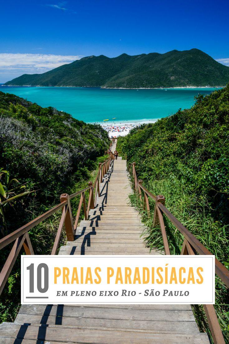 Conheça as melhores praias do litoral de São Paulo e do Rio de Janeiro! Verdadeiros paraísos pra viajar no eixo Rio-SP.