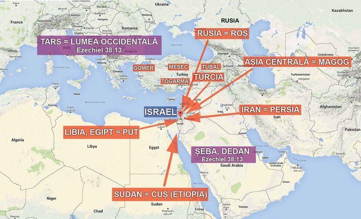 Capitolele 38 și 39 din Ezechiel prezintă o profeție uimitoare despre vremurile din urmă, când va avea loc o invazie masivă a Israelului pornită din nord, condusă de către Rusia și căreia i se vor alătura un număr de națiuni islamice, inclusiv Iranul. Această invazie masivă va avea drept rezultat una dintre cele mai mari intervenții divine cunoscută vreodată, moment în care Dumnezeu va porni la judecată. Toate aceste lucruri vor avea ca rezultat schimbări masive la nivel mondial: politice…