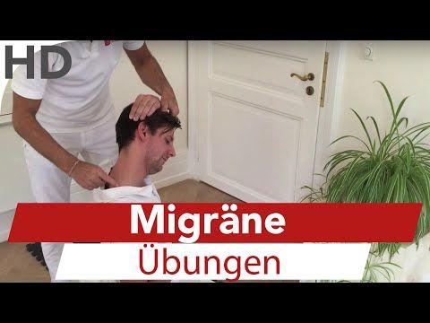 Migräne Übungen zum Mitmachen // Migräne, Kopfschmerzen, Faszien Training - YouTube