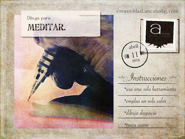 Creatividad: Dibuja para meditar