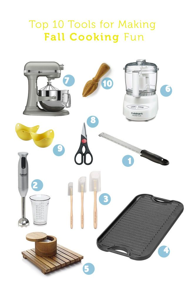 All tools that will make me actually want to get in the kitchen and cook now that summer's over - especially #9, my new fav!Dear Santa, Favorite Things, Kitching In, Ten Favorite, Kitchens Gadgets, Kitchens Tools, Kitchen Tools