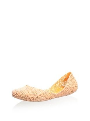 51% OFF Melissa Women's Papel Flat (Orange)