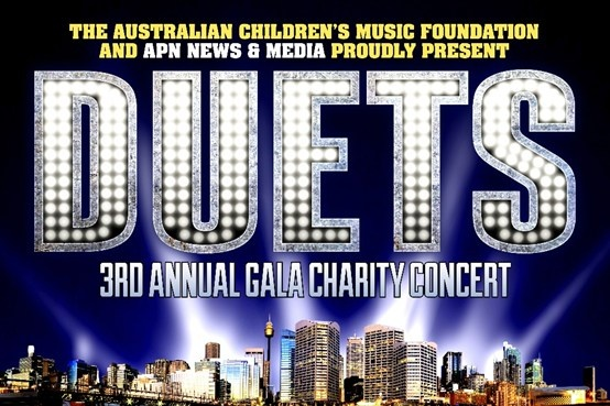 DUETS Charity Concert Special Ticket Offer! Tickets only $79