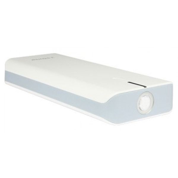 2-Power Travel 10400 mAh med lygte