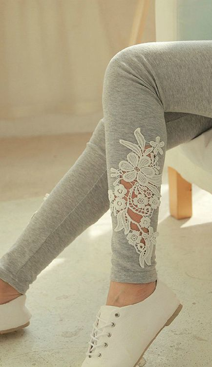 17 Best ideas about Lace Leggings on Pinterest