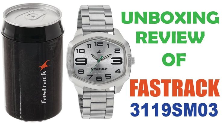 Unboxing and Review of Fastrack 3119SM03 Wrist Watch for Men