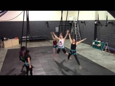 Bungee Dance Fitness at The Aerial Classroom