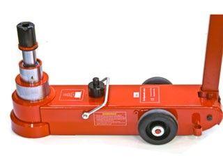 Pneumatikus-hidraulikus emelő 50t, Big Red