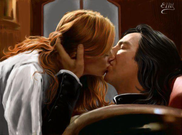 Snape and Lily by ~TsukikoSama on deviantART