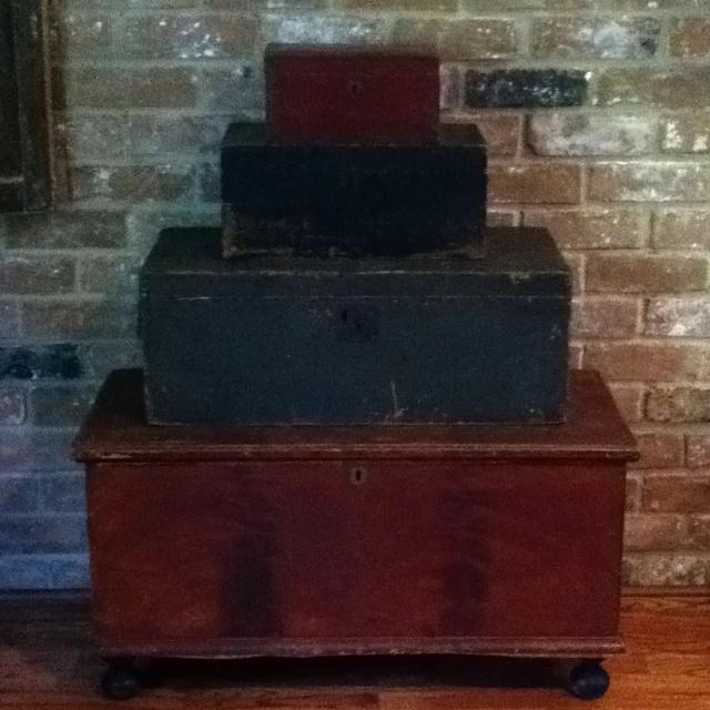 Stack of antique boxes   Room ideas   Pinterest   Antique