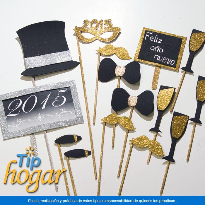 Toque divertido a tus fotos de Año Nuevo. Haz que la celebración sea algo inolvidable y captura los mejores momentos, una forma divertida y especial es haciendo letreros para tus invitados. Todo lo necesario para recibir al Año Nuevo lo encontrarás de venta en Walmart. En Walmart SIEMPRE encuentras TODO y pagas menos.