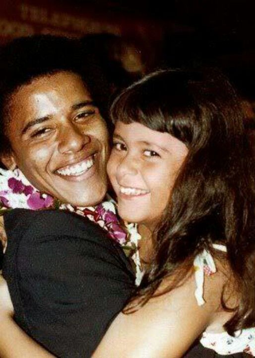 President Barack Obama With His Sister Maya.... Early Years...