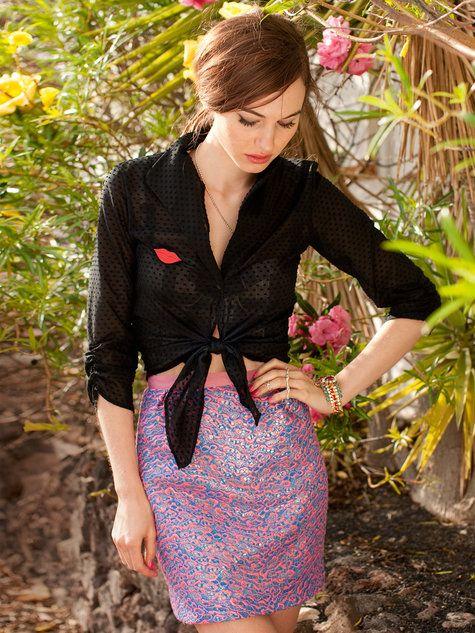 Tulip Skirt 04/2013 #117A - BurdaStyle Spring 2014