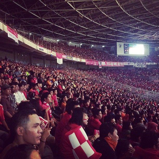 Stadion Utama Gelora Bung Karno (GBK) di Jakarta Pusat, Jakarta