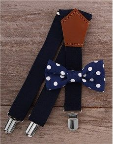 Cute Baby Gifts: Baby Bow Tie & Suspender Combo!