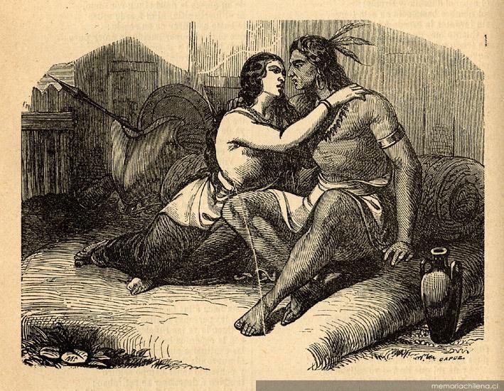 Guacolda, Lautaro's lover (p.271)