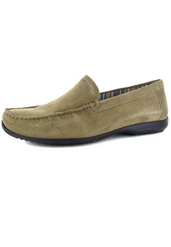 Grashopper-D-141 Bagan, Mocassins (Loafers) Femme - Multicolore - Mehrfarbig (Electric-Grass), 39.5 EUSioux