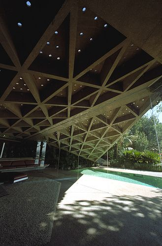 The Sheats Goldstein House, John Lautner, 1963