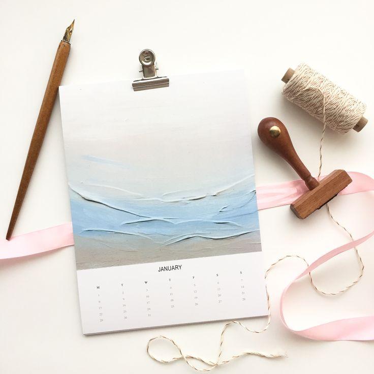 #calendar #minimalist #minimal  www.MinaaArt.etsy.com @minaa_art_