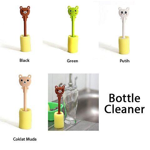 Sponge Karakter Imut Pembersih Botol - Cute Bottle Cleaner