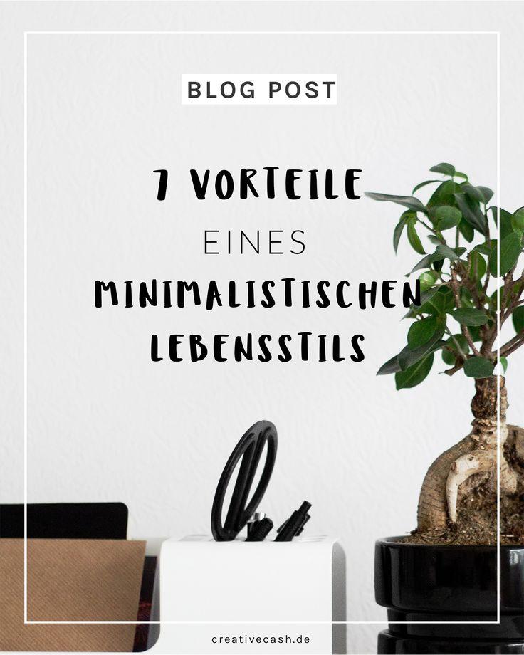 7 Vorteile eines minimalistischen Lebensstils