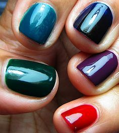 Top 10 Best Nail Colors for Winter Fall Season 2015-2016 ...