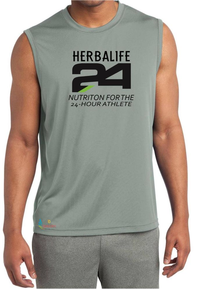 Excited to share the latest addition to my #etsy shop: Herbalife 24 Tank Sport-Tek ® Sleeveless PosiCharge ® Competitor™ Tee