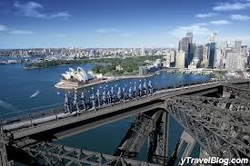 walk over Sydney harbour bridge - SOMETHING I HAVE ALWAYS WANTED TO DO! I am petrified of heights and flying so to fly to Australia and do this would be a real fear conqueror!