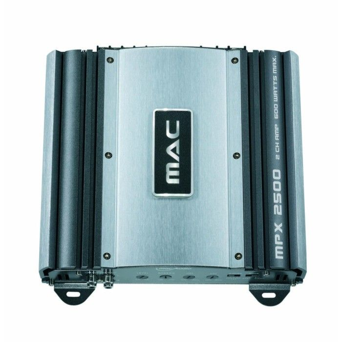 Mac Audio MPX2500 2 Channel 600 watts power ampifier 2 ohm stable - Car Audio Centre