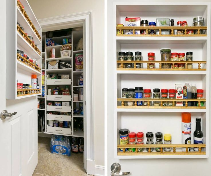 Superb This Custom Pantry Features Sliding Shelves U0026 Additional Storage On The  Back Of Your Pantry Door
