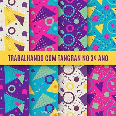 O tangram possibilita variadas potencialidades que desenvolvem o raciocínio lógico, a concentração, a criatividade, o pensamento lateral, noções de espaço e construção.