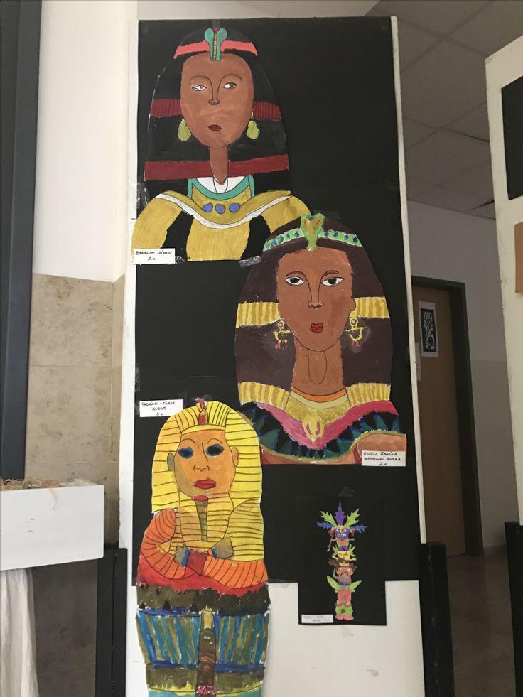 Szarkofágok nyomában -Egypt sarcophagi #education #artschool #studentlife #oktatás #művészet #grafika