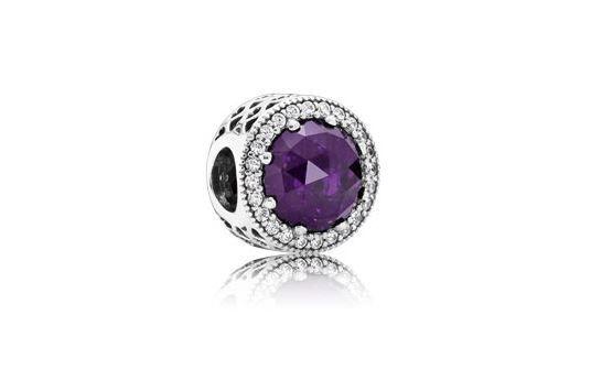 Pandora, ciondoli per bracciali: i prezzi degli charms più amati Charm Gioiello Viola Intenso PANDORA