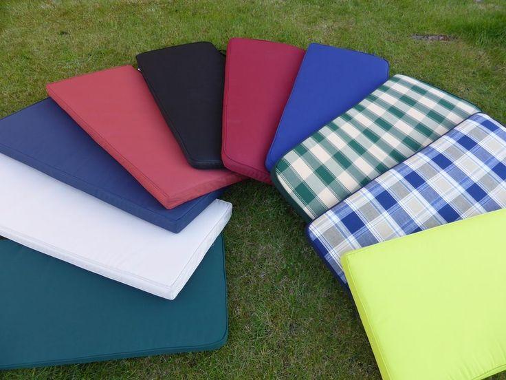 3 Seater Garden Furniture Bench Seat Cushion Water Resistant Outdoor 143x48x6cm #UKGardens