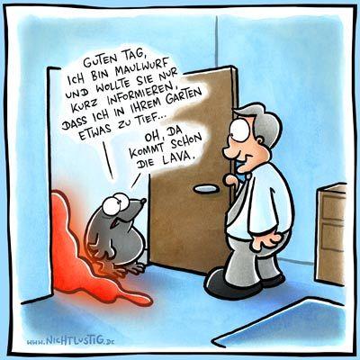 Lava | #fun #nichtlustig #comics #maulwurf #lava