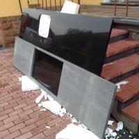 Vor kurzem lieferten wir in Mainz diese Nero Devil Black Granit Arbeitsplatten.