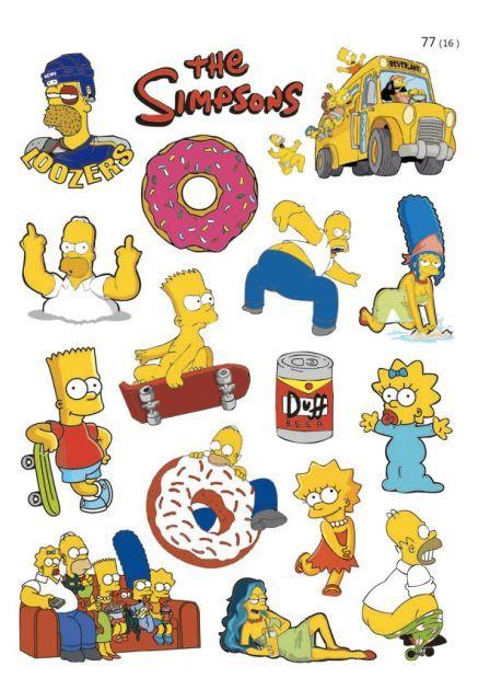 stickers симпсоны - Поиск в Google