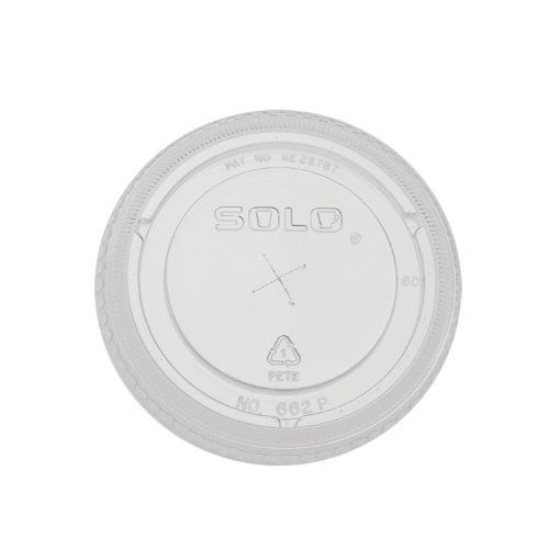Solo 662TS-0090 Clear PETE Straw Slot Lid for Plastic Cold Cup (Case of 10) by Solo. Save 14 Off!. $44.80. Clear with straw slot. PETE material used. Fits for 9 oz (SCC TP9) and 12 to 14 oz (SCC TP12), (sold separately). 100 lids per pack. 10 packs per case. 1,000 lids per case.