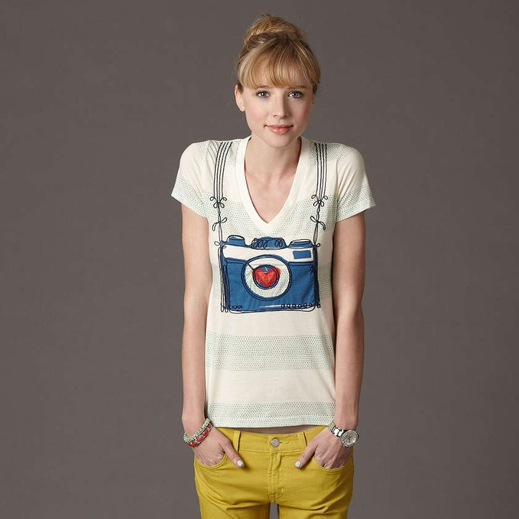 Say Love camera tee from Fossil $44