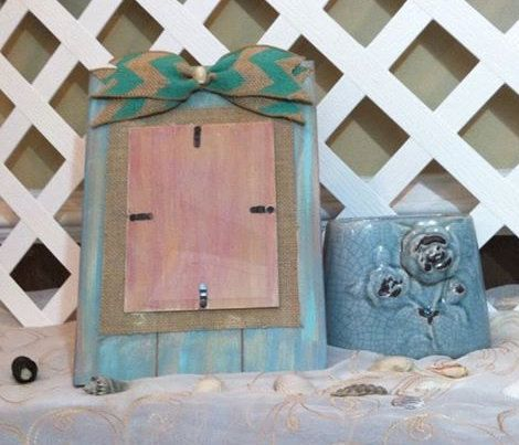 Coastal Beach Decor  Pallet Wood Picture by ElsiesCreativeDesign