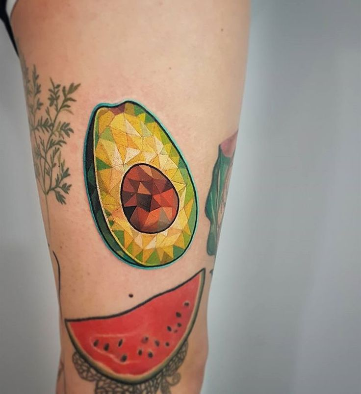 Best Avocado Tattoo Ideas On Pinterest Vegetable Tattoo Arm - 15 impressive tattoo saves