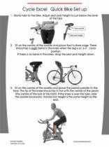 How do I set up a Spin Bike