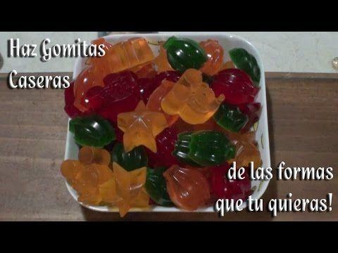 Gominolas caseras, para fiestas y cumpleaños, #TonioCocina 101 - YouTube