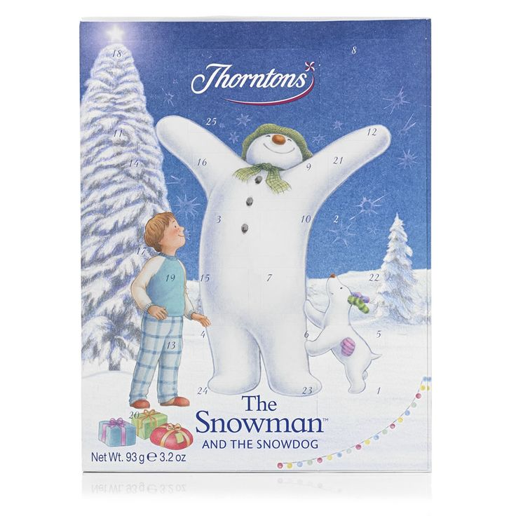 Thorntons Advent Calendar The Snowman & The Snowdog 83g at wilko.com